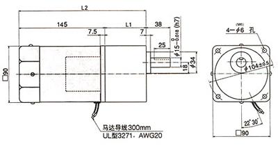60槽四级电动机接线图